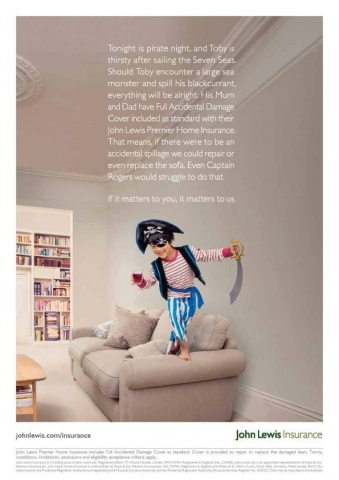 Mair Joint kids stylist John Lewis Pirate photographed by Euan Myles
