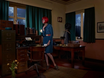 Vintage clothes and props styled by stylist Mair Joint